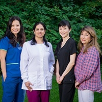 the Bellevue Family & Cosmetic Dentistry team