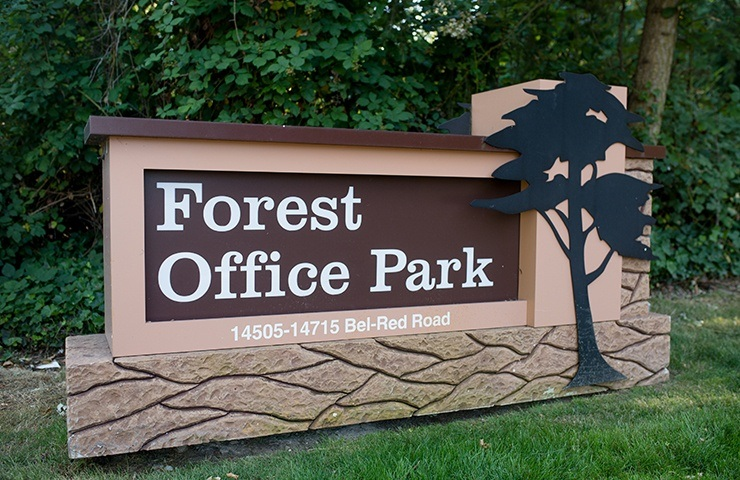 Forest Office Park sign